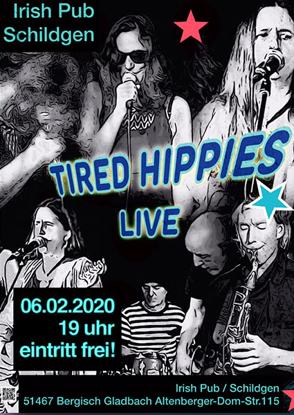 Tired Hippies Livemusik